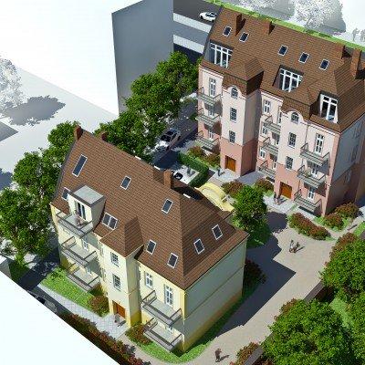 Sanierte Wohnungen mit Denkmal Sonder-Afa in der Berliner Vorstadt in Potsdam