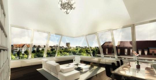 Your view over Berlin! Penthouse at the Ku'damm -  Bild 1