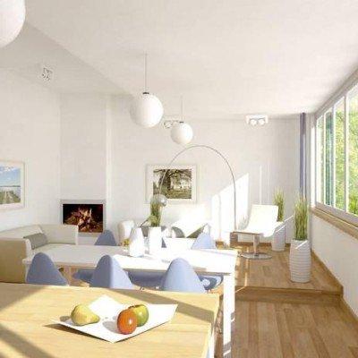 Let the sun shine! Light attic flat in new building