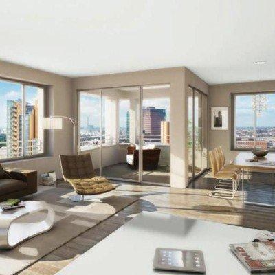 New, attractive condominium with two terraces
