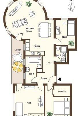 Eigentumswohnung in sanierter Altbauvilla -  Vorschau 8