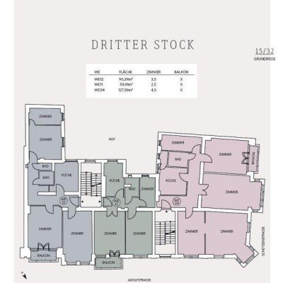 Traumhafte Altbauwohnung mit Balkon. Provisionsfrei -  Vorschau 17
