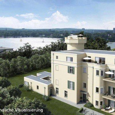 ERSTBEZUG *Sanierte Turmvilla * Exklusives Penthouse mit Dachterrasse * Wasserblick -  Vorschau 2