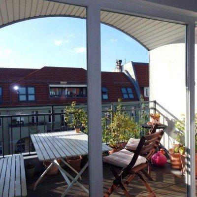 Traumlage Prenzlberg * Dachgeschoss * 4 Zimmer * hochwertig * 2 Loggien * Aufzug * vermietet