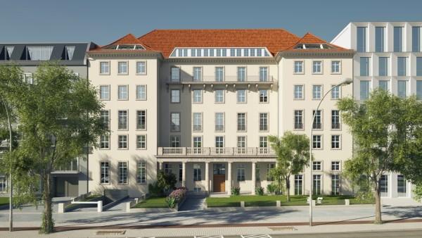 Ausbau exkl. Baudenkmal Otto-Suhr-Allee