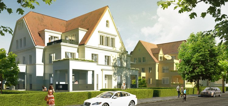 Exclusive condominiums in Berlin-Dahlem