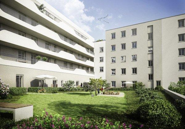 Innenhof Altbau