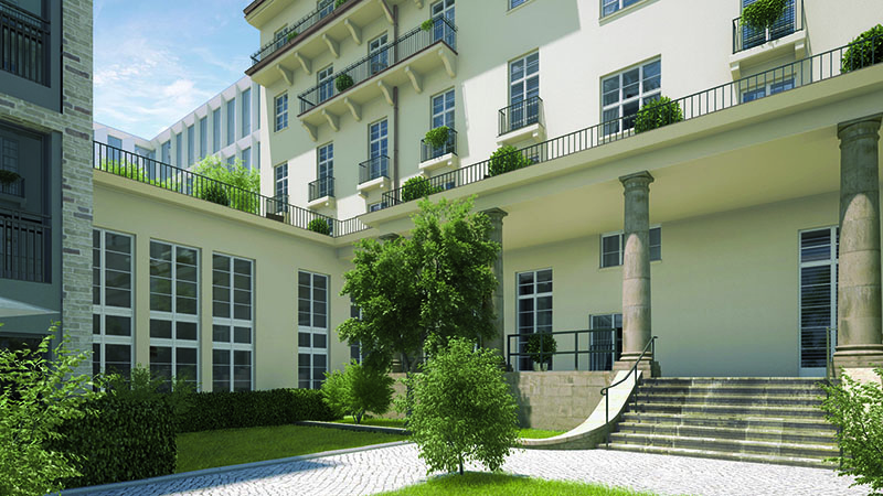 Neubau Charlottenburg Otto Suhr Allee